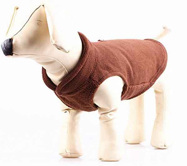 Manteau polaire pour petit chien