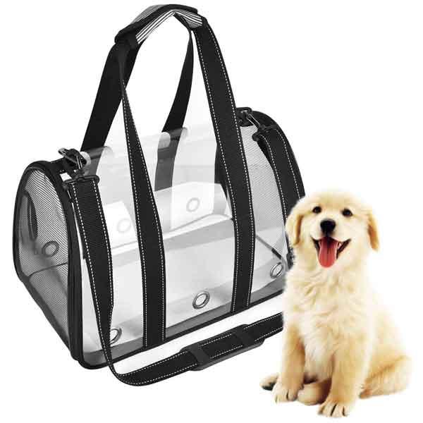 Sac de transport en bandoulière pour chien