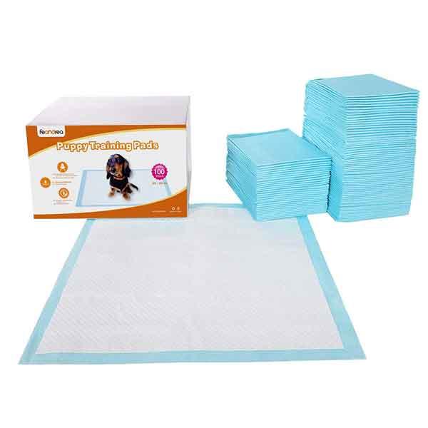 100 tapis absorbants pour chien et chiot