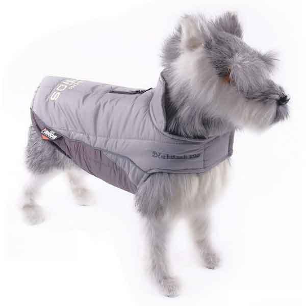 Manteau imperméable en laine pour chien