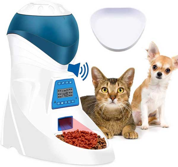 Distributeur croquettes 6 repas petit chien