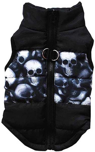 Manteau hiver Têtes de Mort
