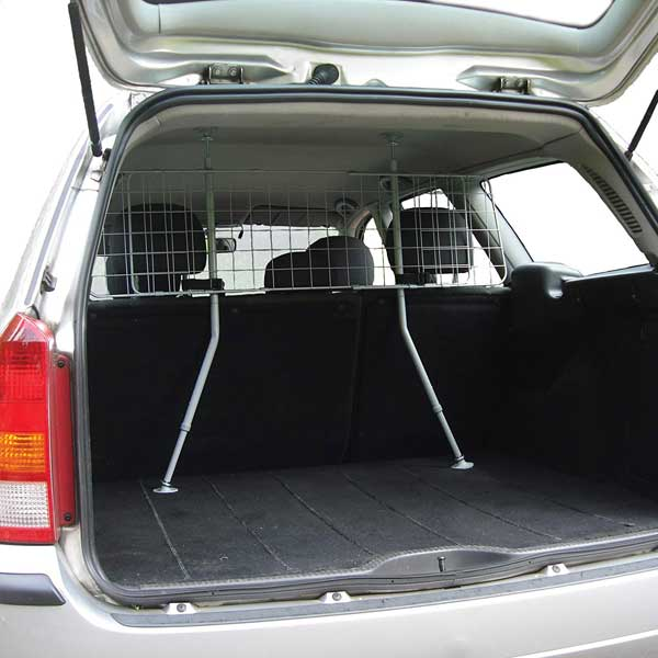 Grille de coffre voiture pour chien