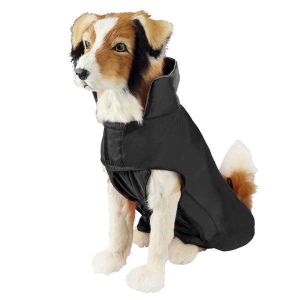 Veste imperméable nylon pour chien