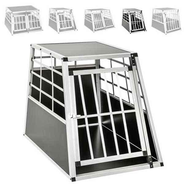 Cage Box en aluminium pour chien