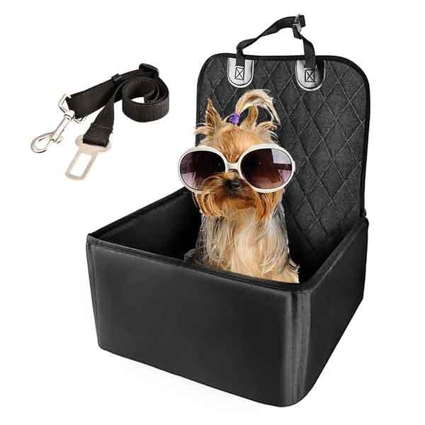 Siège avant auto pour chien