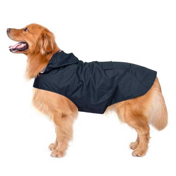 imperméable chien avec capuchon