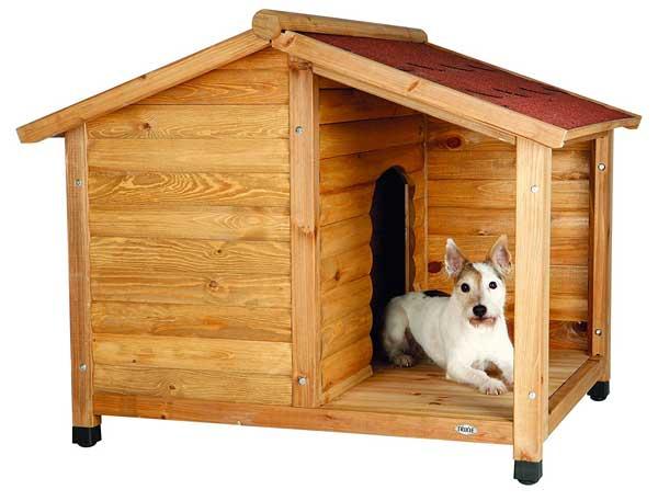Niche pour chien avec selle Roof-Parent